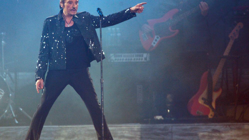 Foto: El cantante francés Johnny Hallyday ha fallecido a los 74 años. (Reuters)