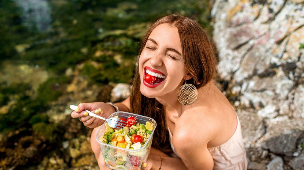Foto: Frutas y verduras elevan el humor. (iStock)