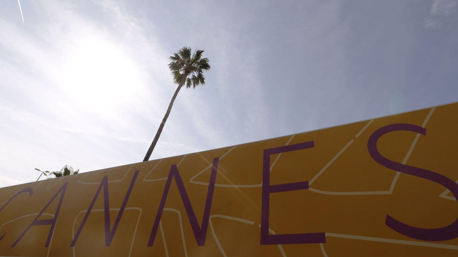 Foto: Pancarta en el Festival de Cannes. (Reuters)