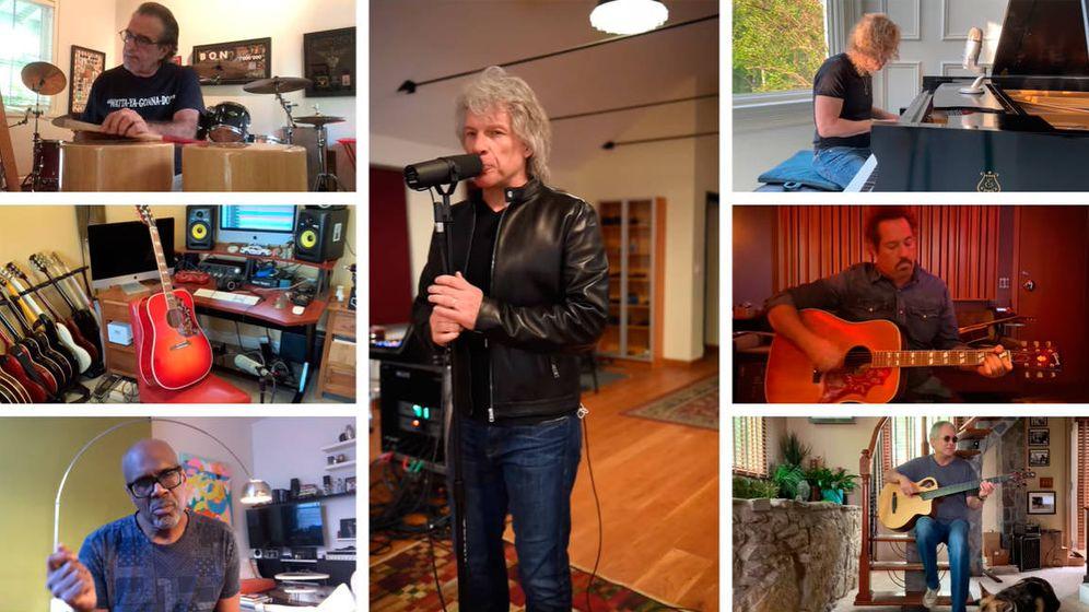 Foto: Bon Jovi se reunió para tocar It's my life en un evento benéfico para recaudar fondos (Foto: YouTube)
