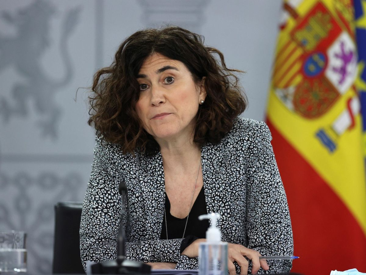 Foto:  La jefa del Área del Centro de Coordinación de Alertas y Emergencias Sanitaria, María José Sierra Moros. (EFE)