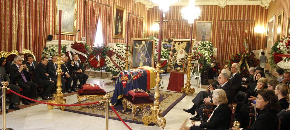 Foto: La capilla ardiente de la duquesa de Alba (Gtres)