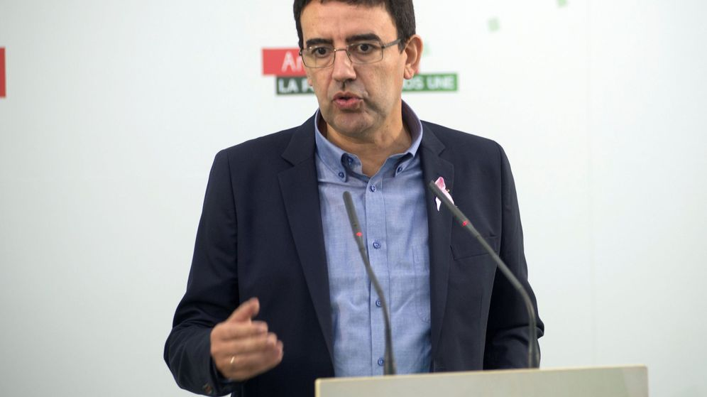 Foto: El portavoz parlamentario del PSOE andaluz, Mario Jiménez. (EFE)