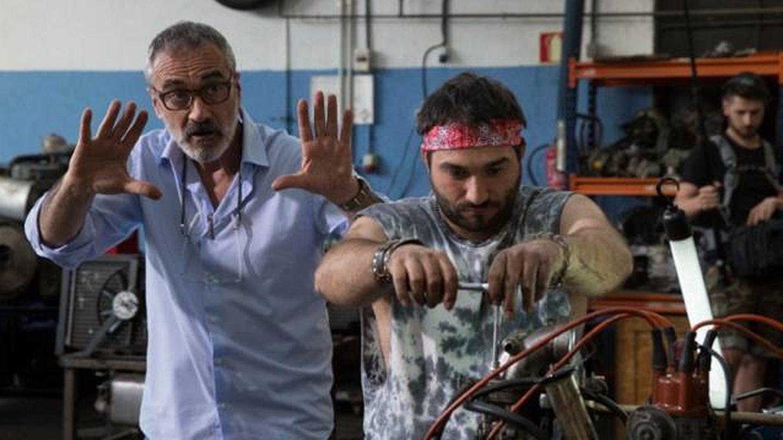 Fesser dirige a Jesús Lago en 'Campeones'. (Universal)