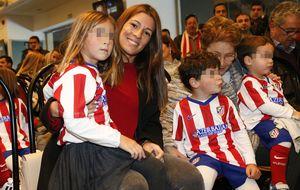 Olalla Domínguez, la mujer de Fernando Torres, vuelve al Calderón