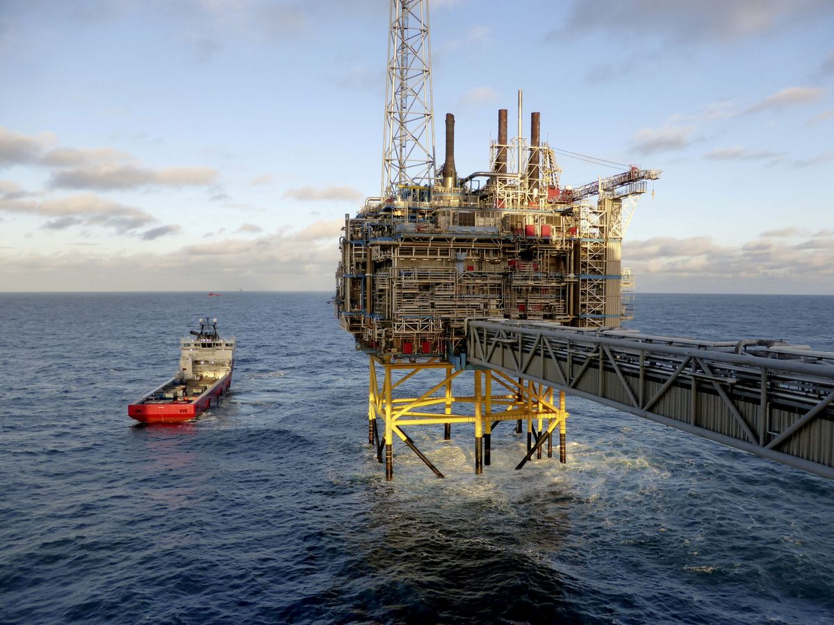 Foto: Plataforma petrolífera en Noruega. (Reuters)