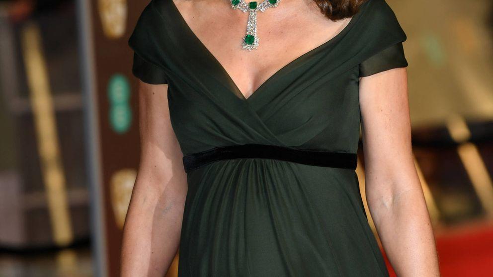 Kate Middleton se salta el código de color de Time's Up en los BAFTA 2018