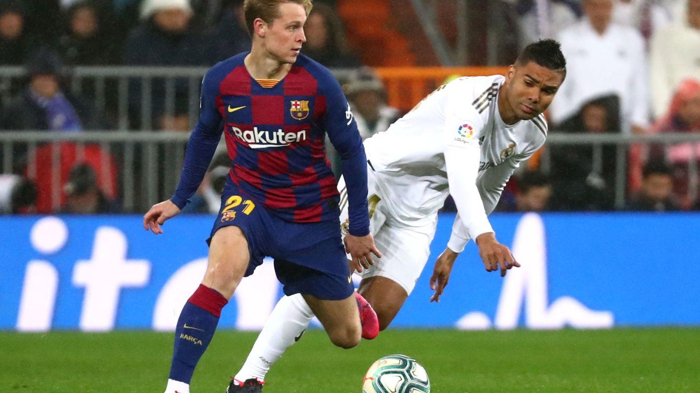 El Clásico en directo: Real Madrid - FC Barcelona con la Liga en juego