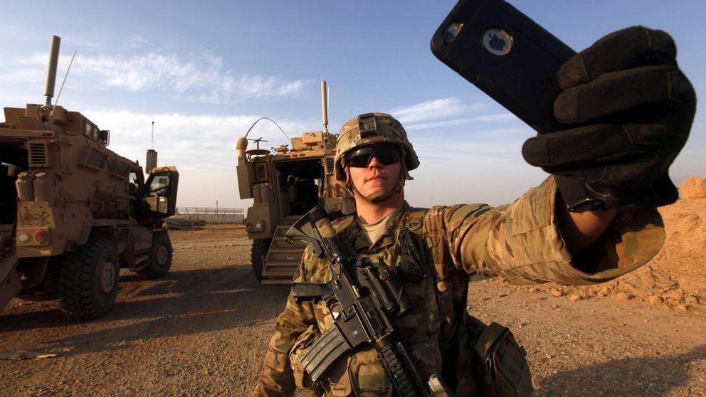 Con las tropas de Estados Unidos que combaten al ISIS en Irak