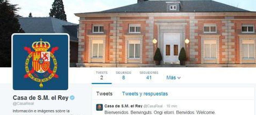Foto: Página oficial de twitter de casa real