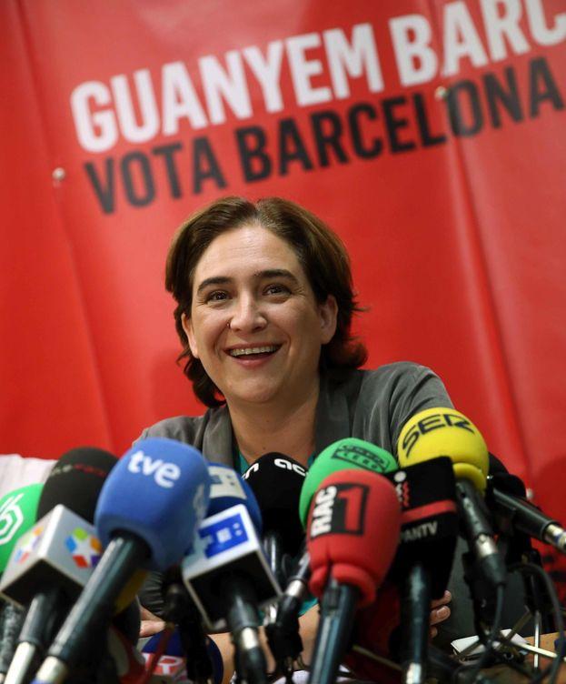 Foto: La alcaldable por Barcelona en Comú, Ada Colau. (EFE)