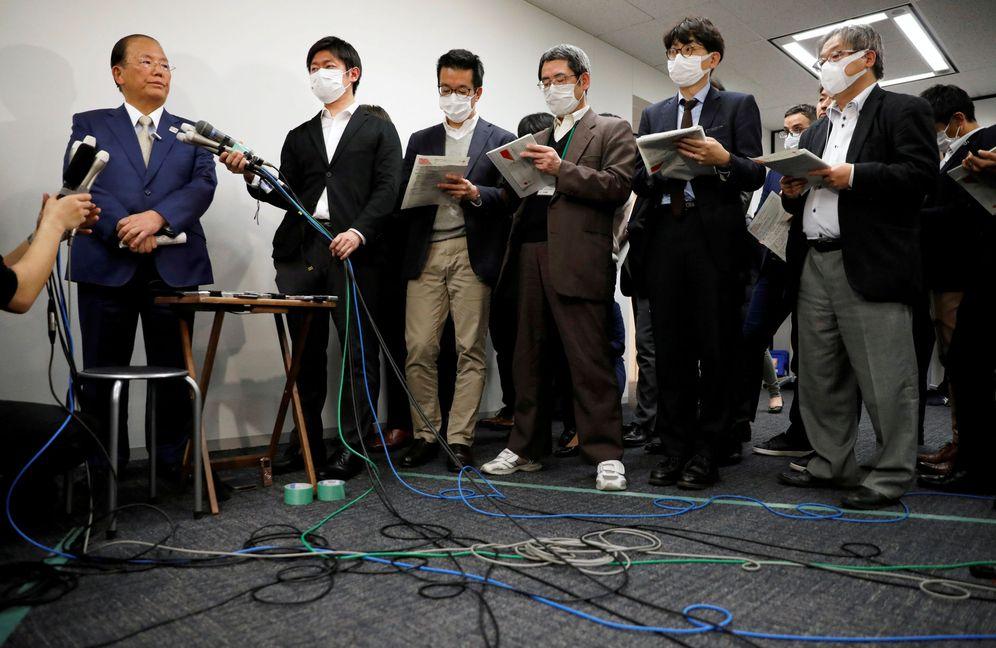 Foto: Rueda de prensa de Tokyo 2020. (Reuters)