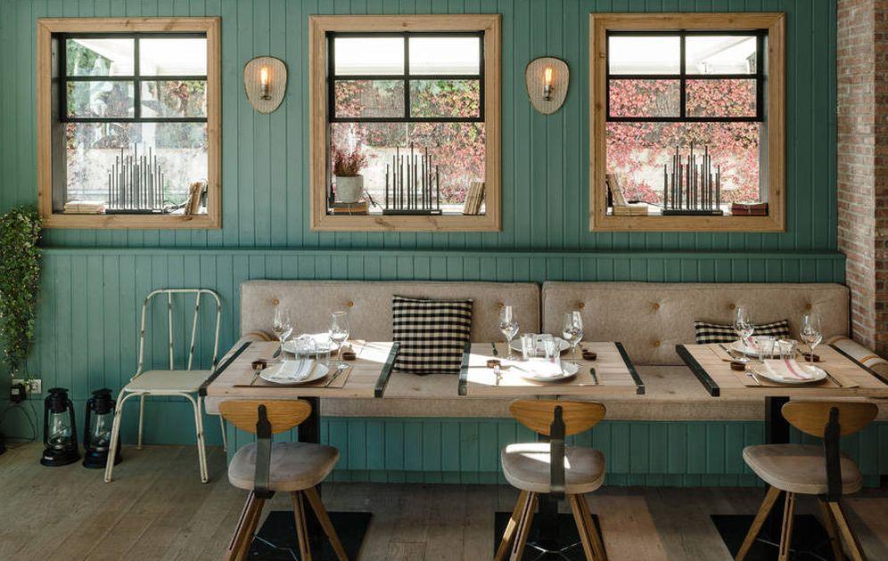 Foto: En el restaurante Guito's te sentirás como en una cabaña escandinava. (Foto: Manuel Prats)
