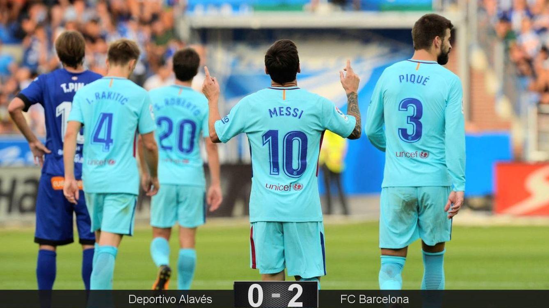 Foto: Messi anotó el gol 351 en Liga. (Reuters)