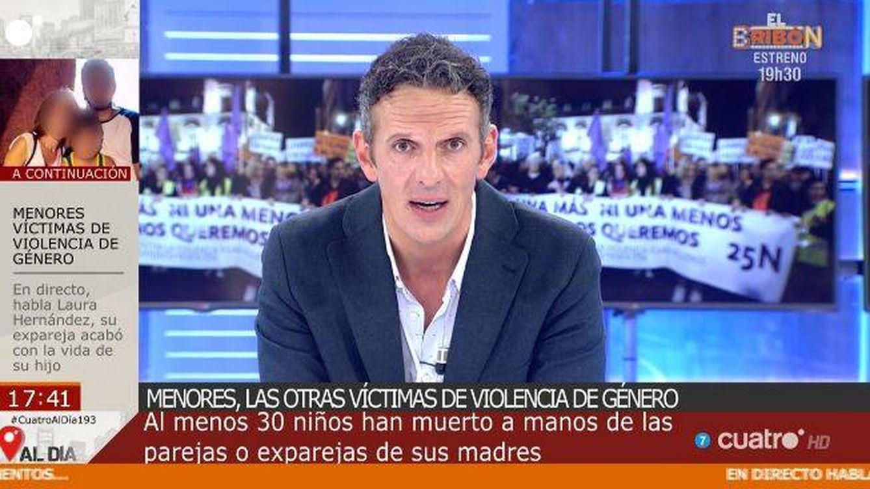 Así se ha estrenado Joaquín Prat en 'Cuatro al día' como sustituto de Carme Chaparro