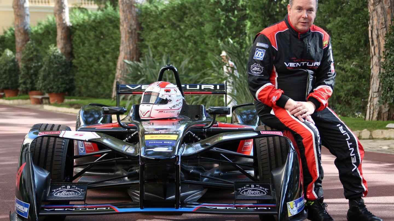 Alberto de Mónaco, en la presentación de la temporada de Fórmula E. (Reuters)