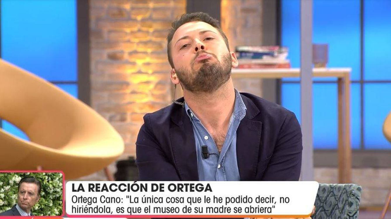 'Viva la vida'   Ortega Cano irrumpe en directo y arremete contra Avilés: Eres un caradura
