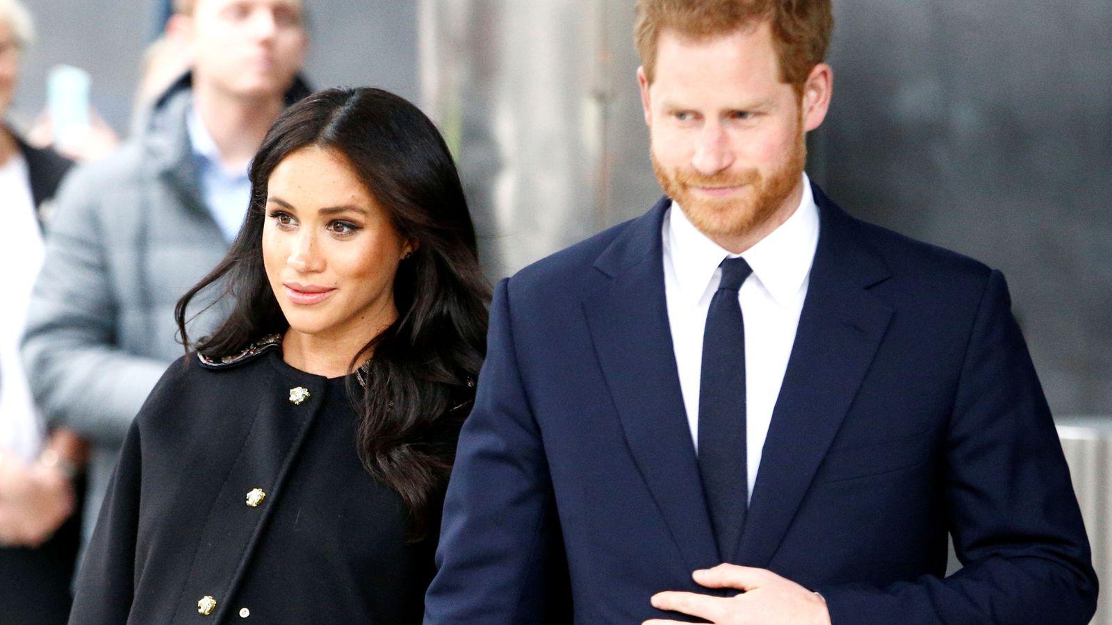 Foto: Harry y Meghan. (Reuters)