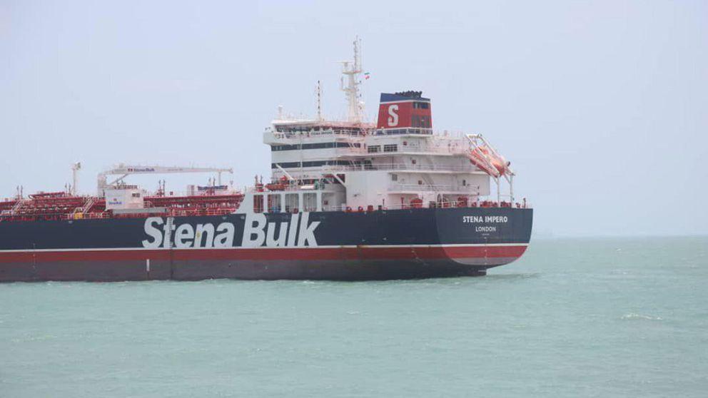 Irán exhibe su fuerza y publica el vídeo del abordaje al petrolero británico