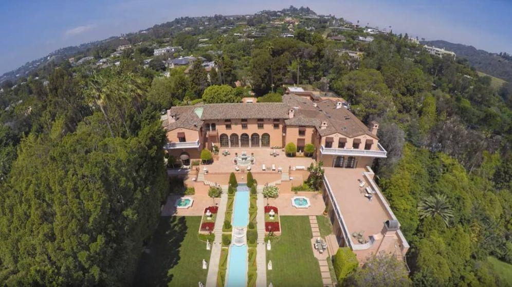 Foto: Vista aérea de la Beverly House.