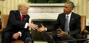 Post de Los palos de Obama en las ruedas de Trump