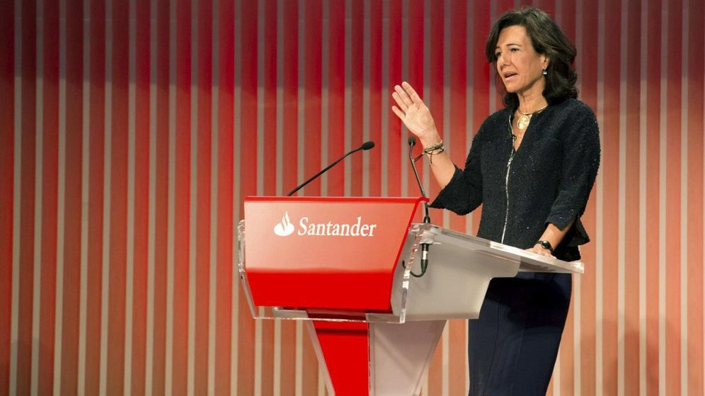 Foto: Ana Botín, en el Día del inversor del Santander en Londres