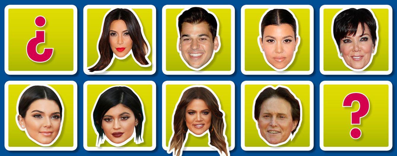 Foto: Montaje fotográfico con los diferentes componentes de la familia Kardashian (Vanitatis)