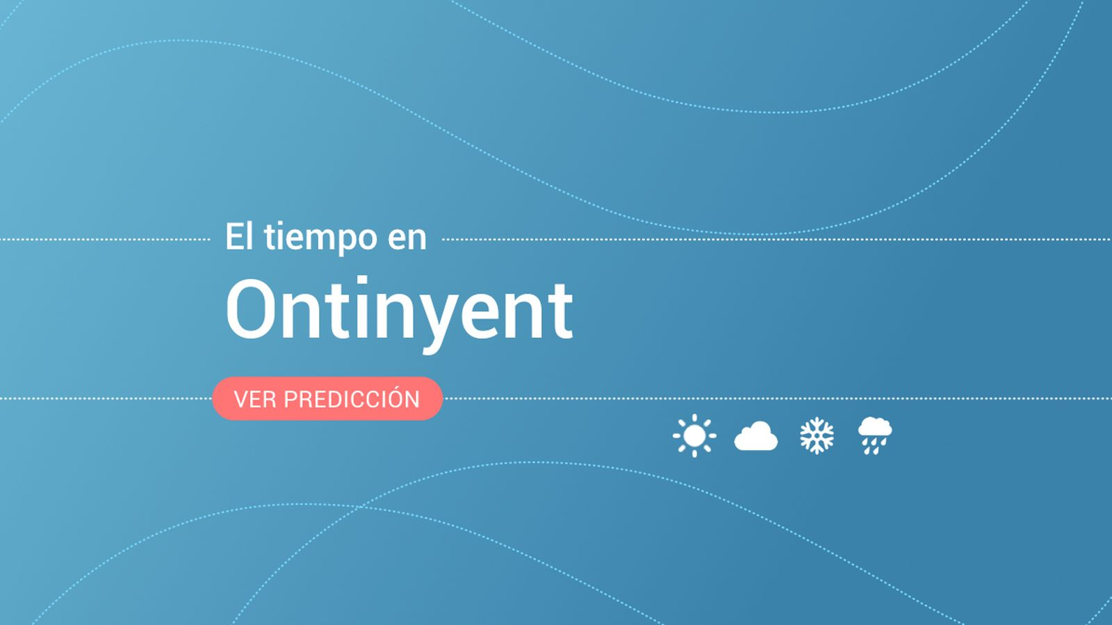 Foto: El tiempo en Ontinyent. (EC)