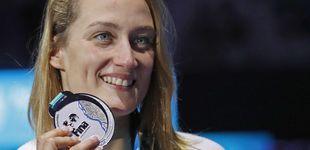 Post de Belmonte, plata en 400 estilos, firma su mejor Mundial y se convierte en leyenda
