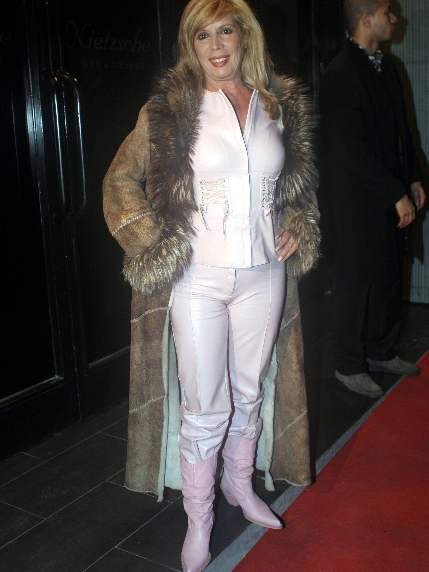 La cantante María Jiménez, en una imagen de archivo. (Cordon Press)
