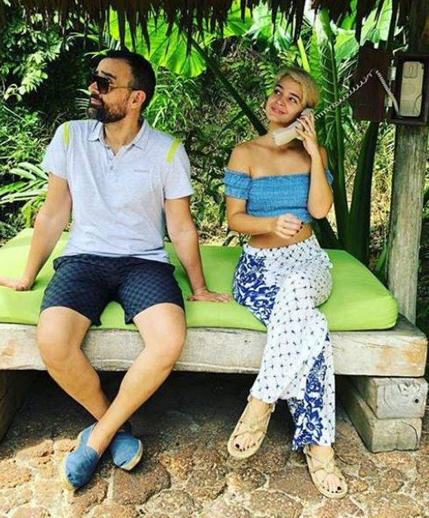 Foto: Risto y Laura Escanes en Tailandia. (Instagram)