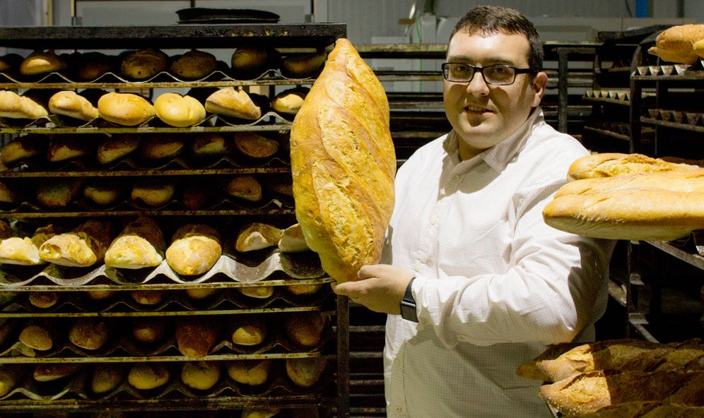 Foto: Miguel Ángel Jiménez, el panadero de Rajoy. (J. Martín)