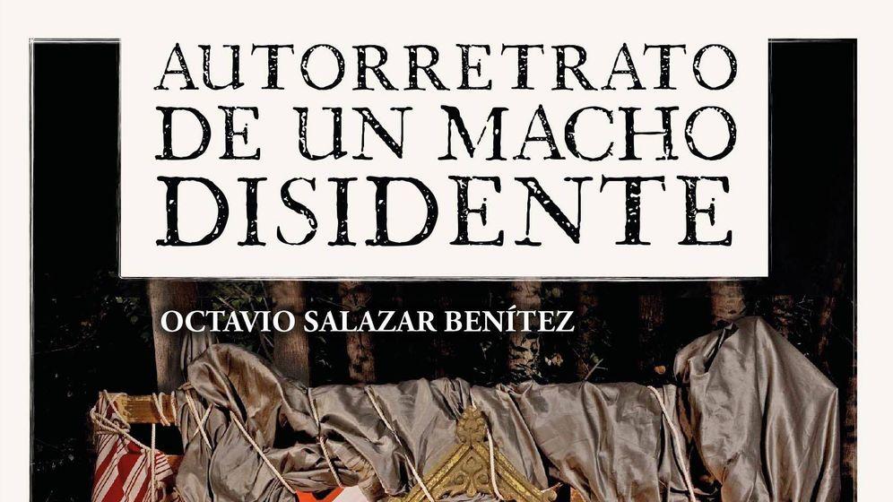 Foto: Extracto de la portada de 'Autorretrato de un macho disidente'. (Huso Editorial)