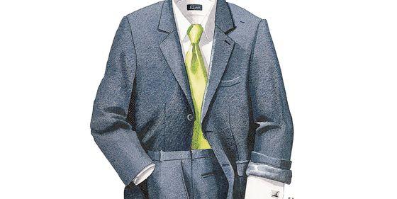 Moda hombre  Las reglas del Yale Club  cómo debe vestir un hombre de  negocios 1a41c7c975f