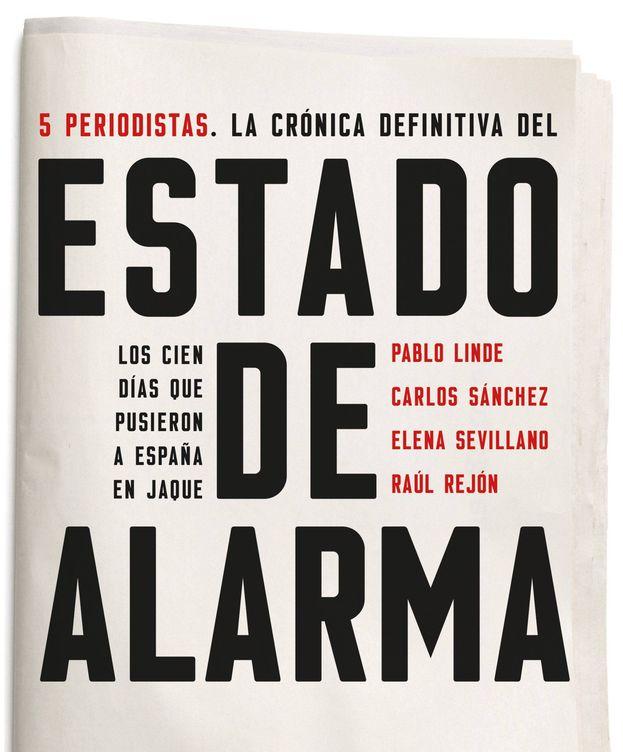 Foto: Portada de 'Estado de alarma'. (Península)