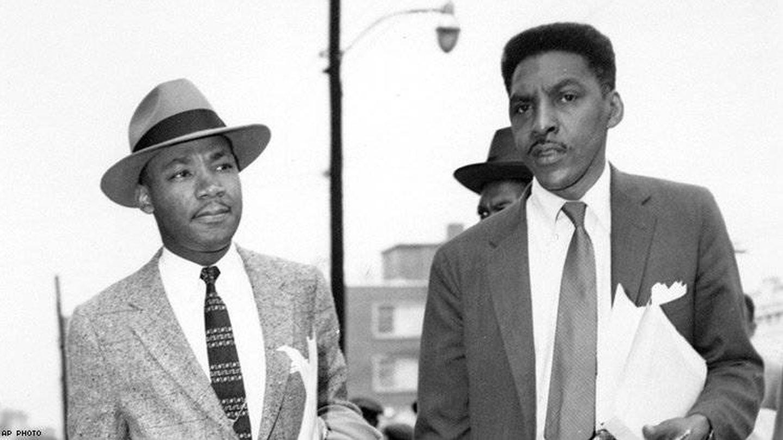 Martin Luther King y Bayard Rustin