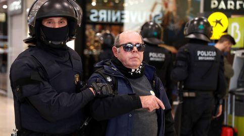 El dispositivo policial impide a los CDR bloquear la estación de Sants