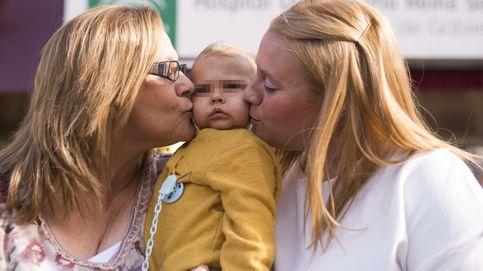 Primer trasplante de hígado en España entre una abuela y su nieto de un año