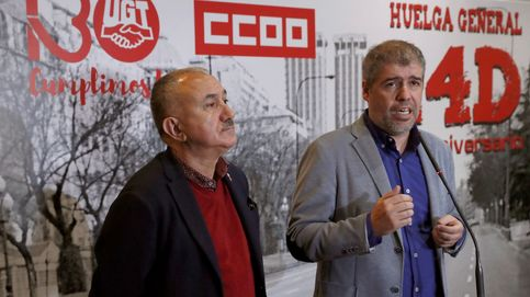 Los sindicatos anuncian un calendario de movilizaciones contra Sánchez