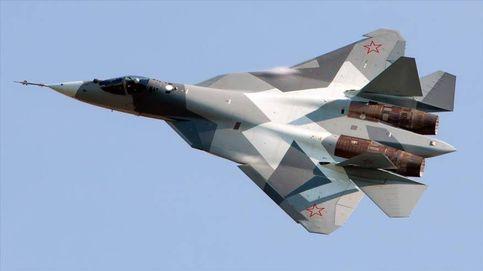 Rusia estrena su caza más potente: así es el futurista Su-57