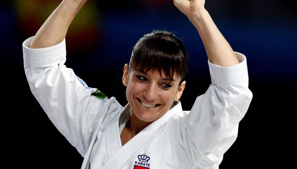 Foto: Sandra Sánchez es la nueva campeona del mundo de kárate en la modalidad de kata. (EFE)