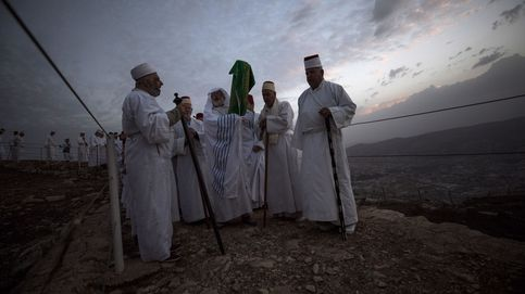 La comunidad samaritana celebra el Sucot