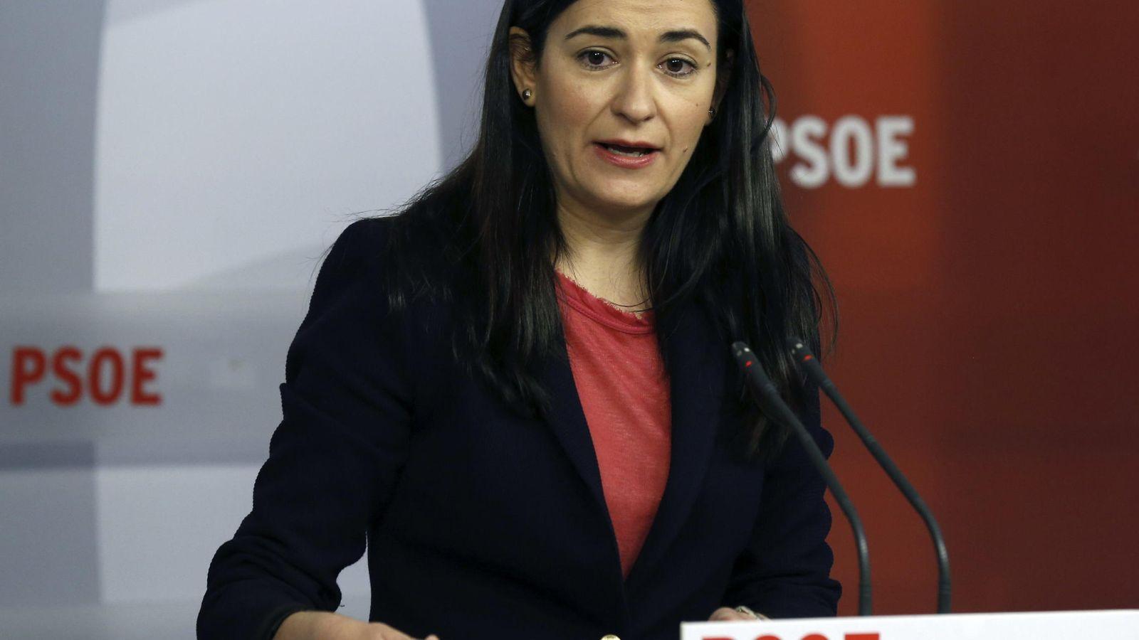 Foto: Carmen Montón, secretaria de Igualdad del PSOE. (EFE)