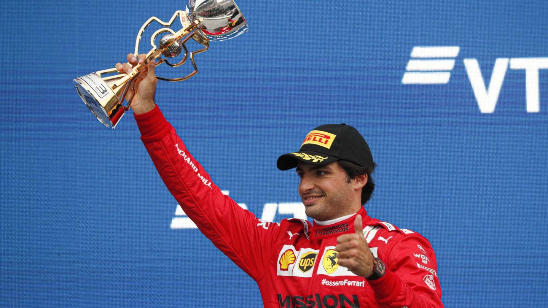 Para Sainz, el GP de Rusia fue el mejor fin de semana del año al ser todo 'bien ejecutado'