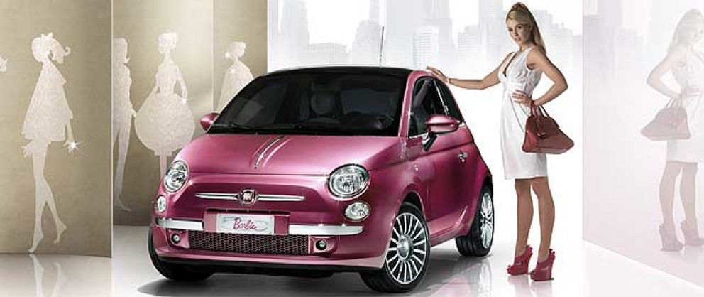 fiat 500 barbie una joya de cuatro ruedas noticias de motor. Black Bedroom Furniture Sets. Home Design Ideas