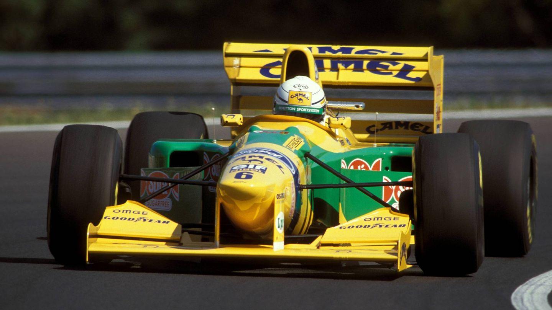 La de 1993, con Benetton, fue la última temporada de Riccardo Patrese en la Fórmula 1. (Imago)