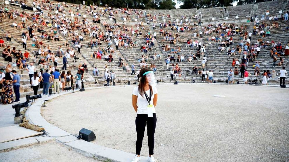 El fracaso de Grecia por ser destino 'libre de covid-19': El turismo está herido de muerte