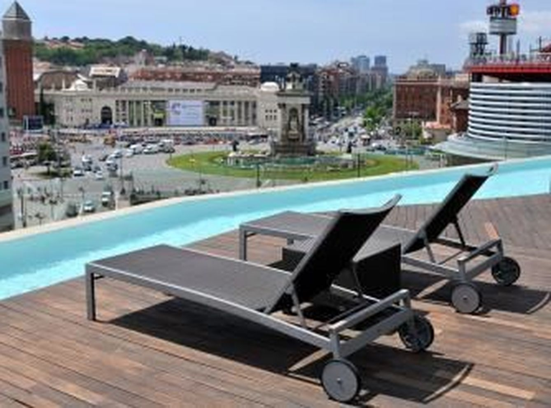 Terraza del B-Hotel en Plaza España. (nnhotels.com)