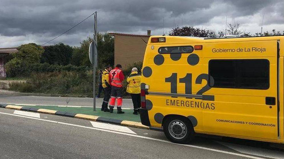 Foto: Sanitarios del Servicio SUMMA 112 de La Rioja (SOS Rioja)