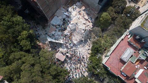 Los barrios de Ciudad de México donde viven los españoles, reducidos a escombros